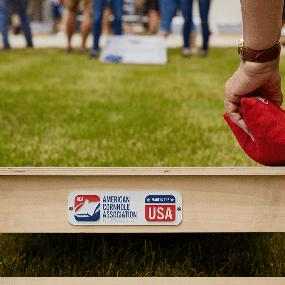 Star Los Angeles Red Gameday Professional Cornhole Boards