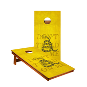 MP2 Don't Tread On Me Yellow Professional Cornhole Boards