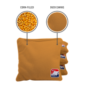 Gold Corn Filled Cornhole Bags
