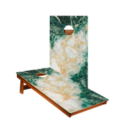 MP2 Green Marble Professional Cornhole Boards