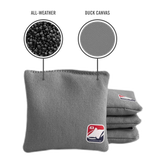 Junior Gray All Weather Cornhole Bags