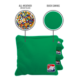 Kelly Green All Weather Cornhole Bags