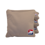 Khaki Corn Filled Cornhole Bags