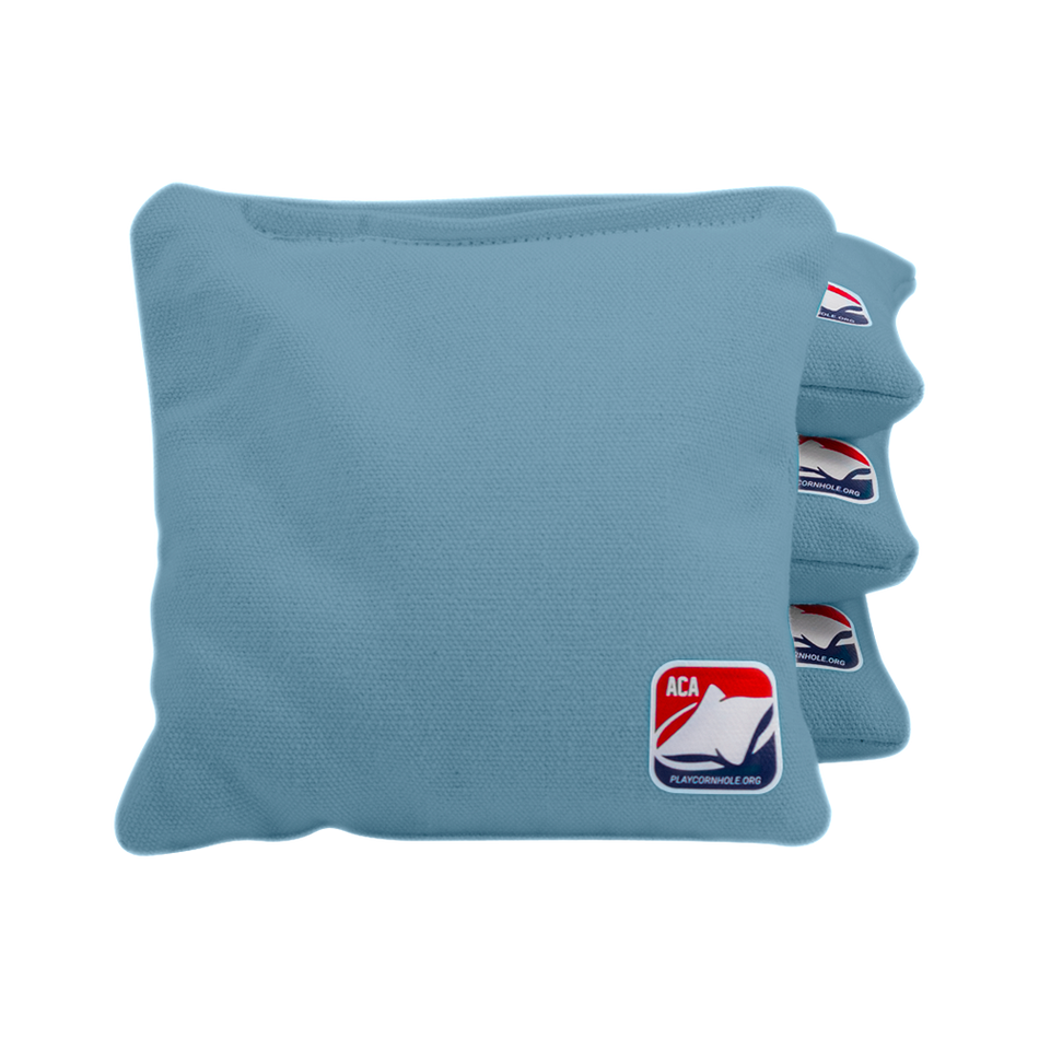 Light Blue Corn Filled Cornhole Bags