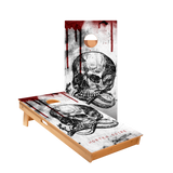 Star Mortem Skull Professional Cornhole Boards