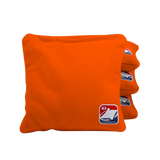 Orange Corn Filled Cornhole Bags