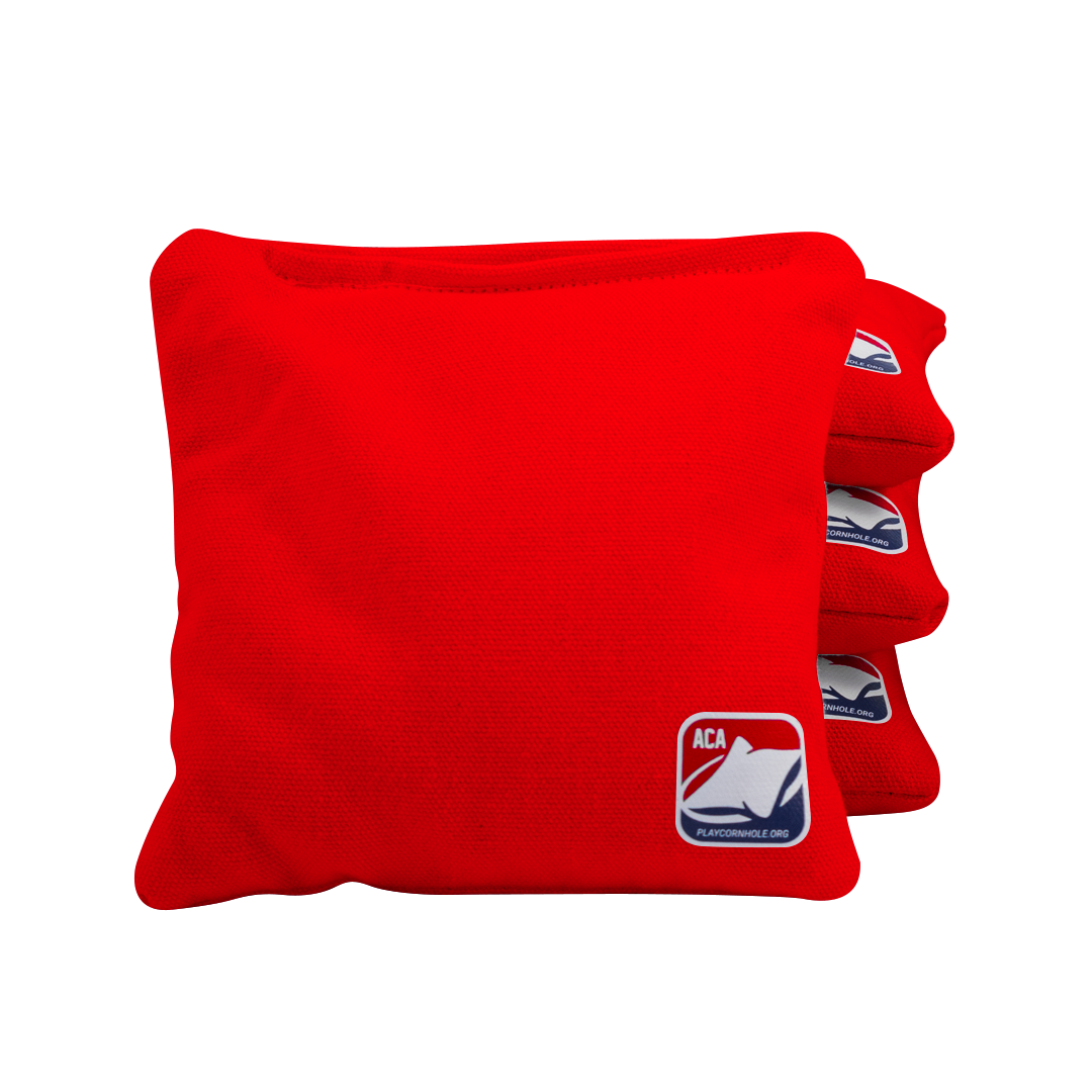 Red All Weather Cornhole Bags