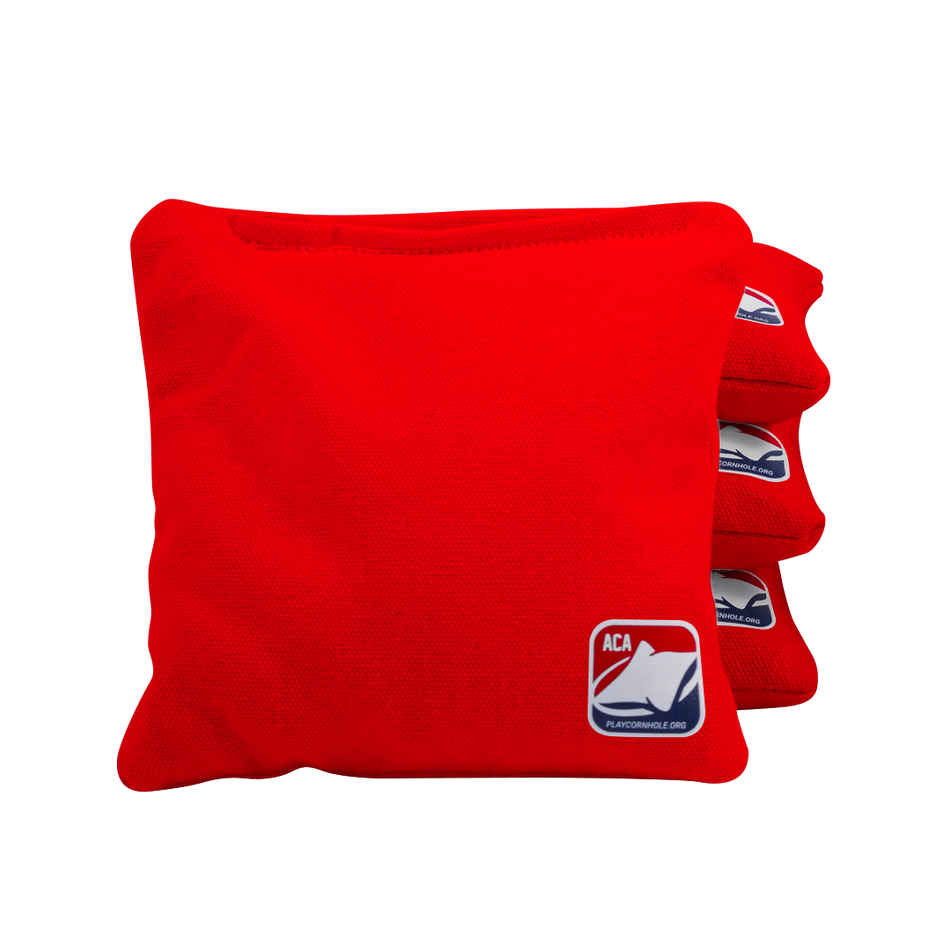 Red Corn Filled Cornhole Bags