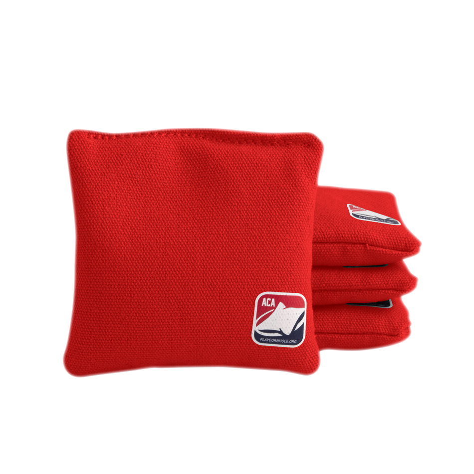 Junior Red All Weather Cornhole Bags