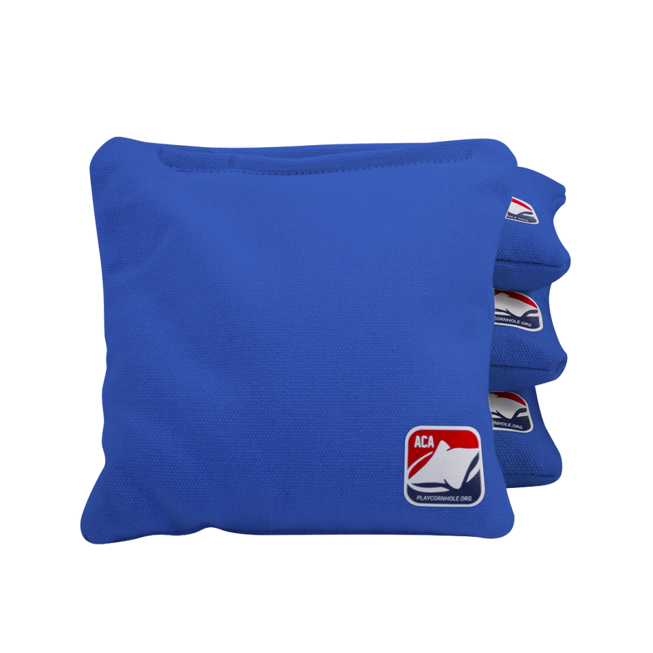 Royal Blue Corn Filled Cornhole Bags
