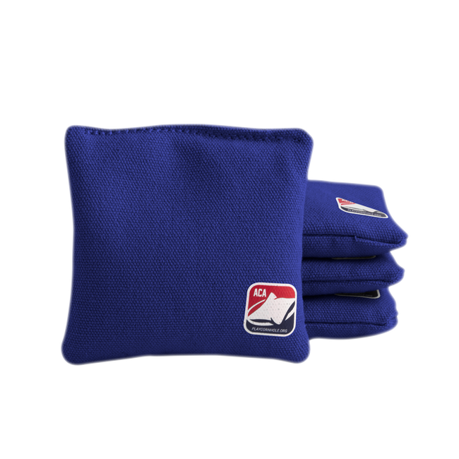 Junior Royal Blue All Weather Cornhole Bags