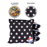 Stars All Weather Cornhole Bags