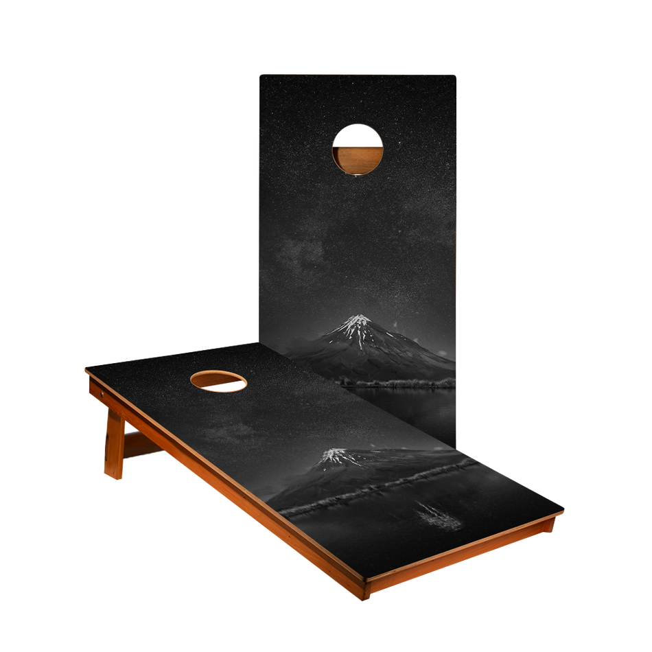 MP2 Starry Sky Mountain Recreation Cornhole Boards