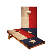 MP2 Vintage Texas Flag Professional Cornhole Boards