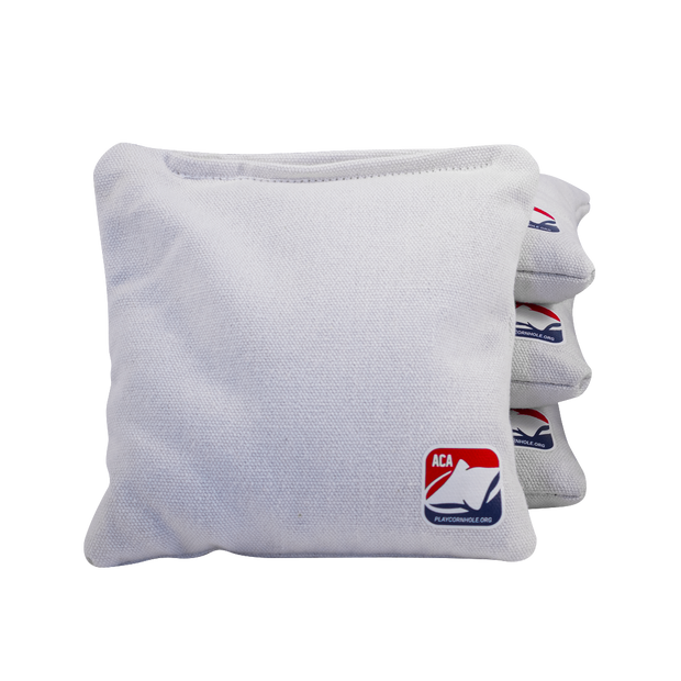 White All Weather Cornhole Bags