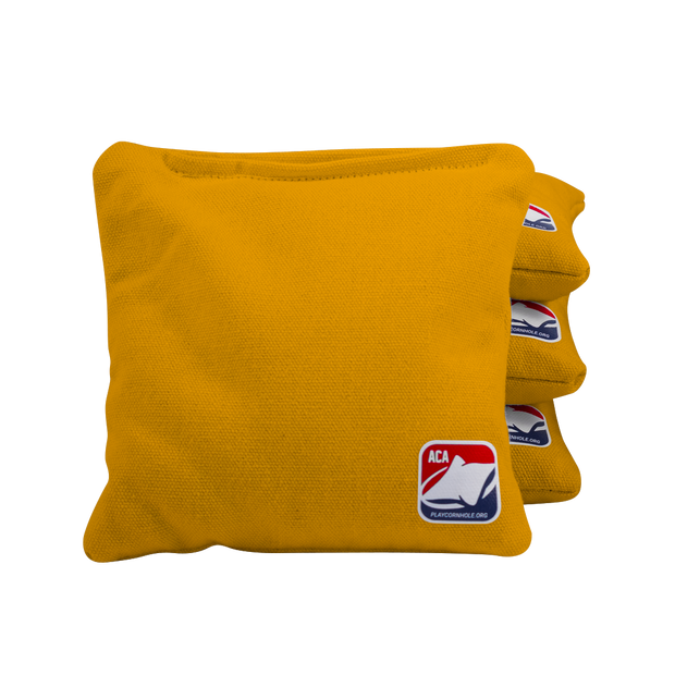 Yellow All Weather Cornhole Bags