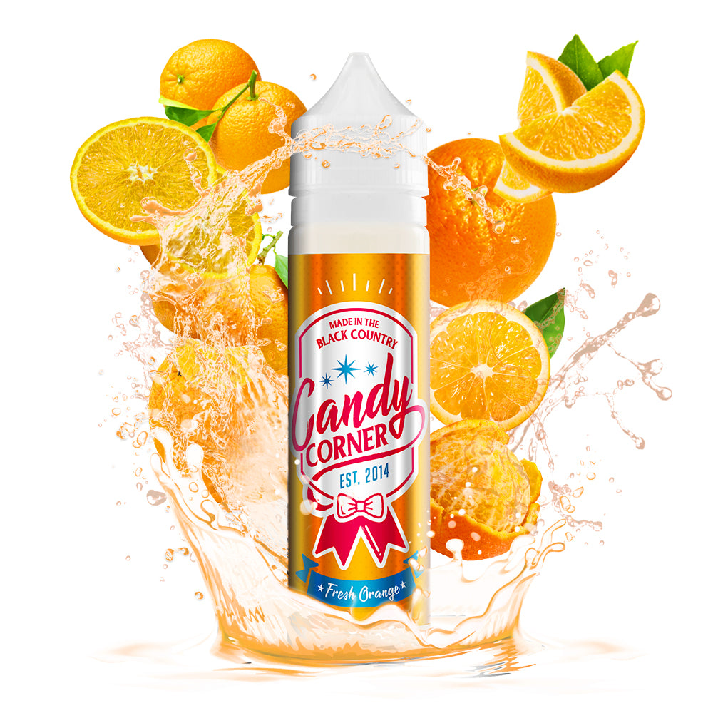 Candy Corner Fresh Orange 50ml Shortfill (80VG/20PG)