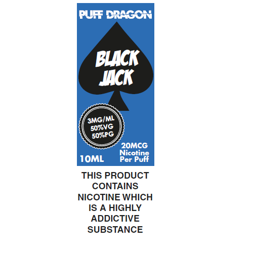 Puff Dragon Blackjack 10ml