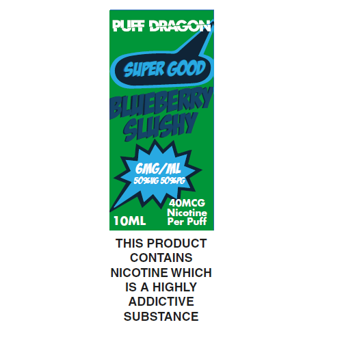 Puff Dragon Blueberry Slushy 10ml