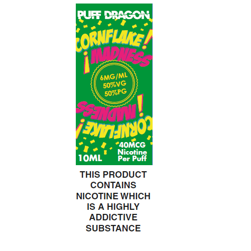 Puff Dragon Cornflake Madness 10ml