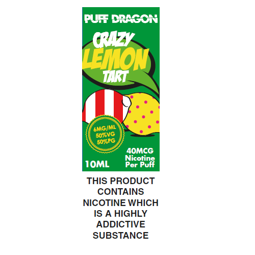 Puff Dragon Crazy Lemon Tart 10ml
