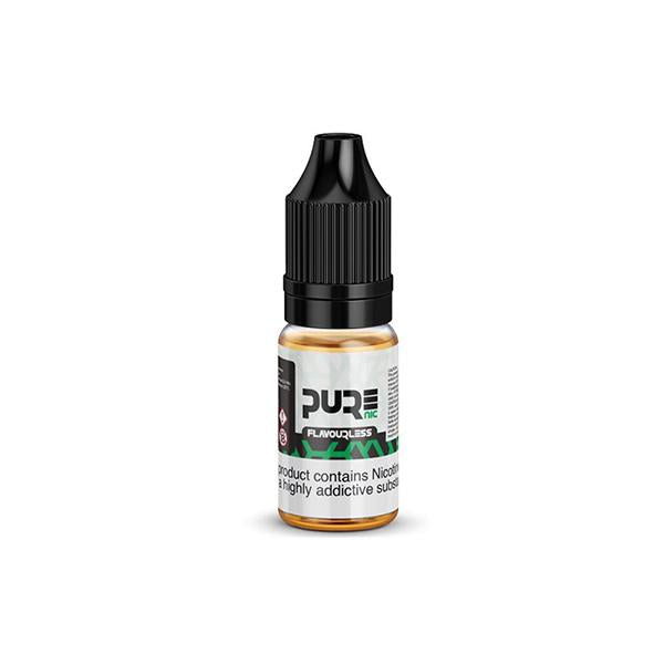 18mg Pure Nic Flavourless Nicotine Shot 10ml (100VG & 70VG)