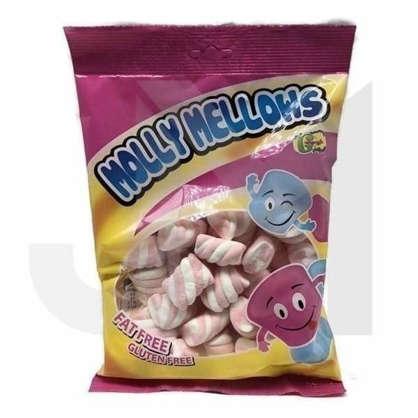 Molly Mellows Twisted Marshmallows (Halal-Vegetarian)