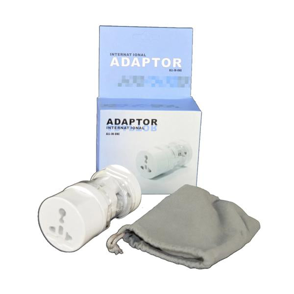 UNIVERSAL International 2-3 Pin Travel Adapter