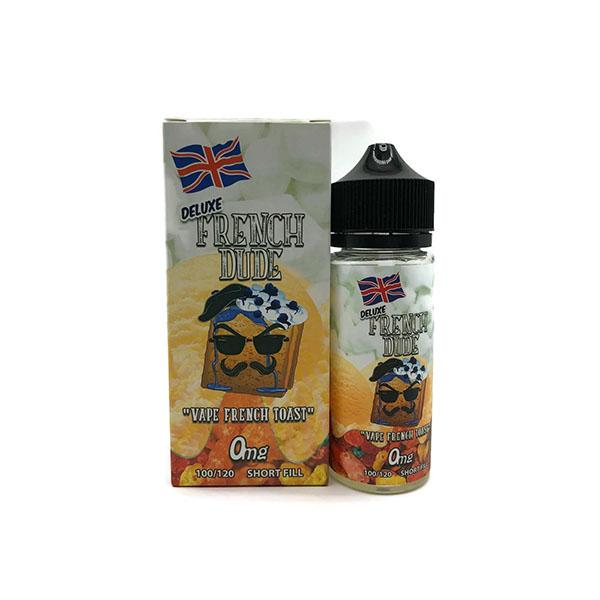 Deluxe French Dude 100ml Shortfill 0mg (70VG-30PG)