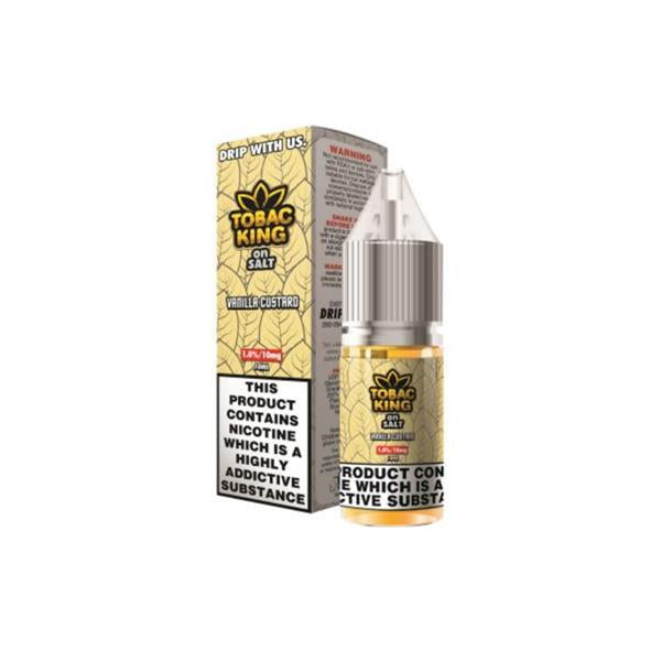 10MG Tobac King On Salt 10ML Flavoured Nic Salt (50VG/50PG)