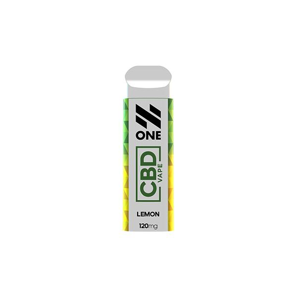 N One Disposable 120mg CBD Pod Device
