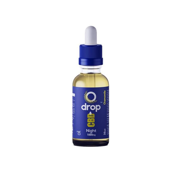 CBD Drop Oil For Night-Time Use 1000mg CBD 30ml
