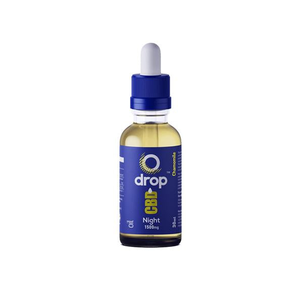 CBD Drop Oil For Night-Time Use 1500mg CBD 30ml