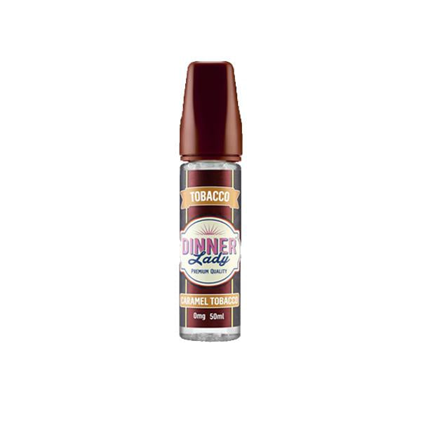 Dinner Lady Tobacco 0mg 50ml Shortfill (70VG/30PG)