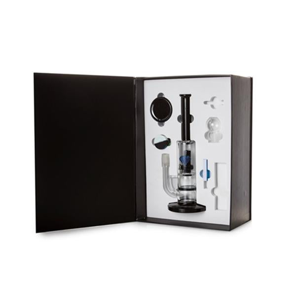 Diamond Haze Percolator Glass Bong In Hard Case - XD85