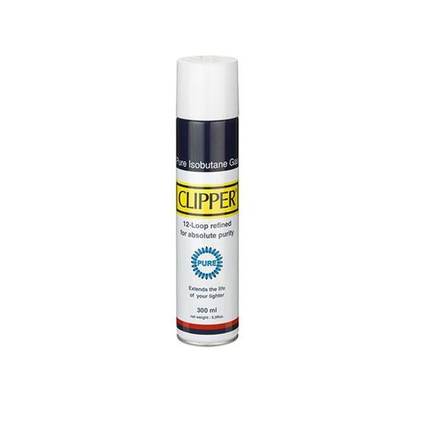 Clipper Isobutane Pure Gas Lighter 300ML
