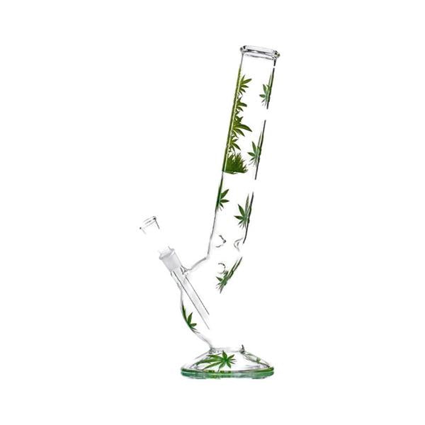 45cm Leaf Jhari Hangover Glass Bong - 2597