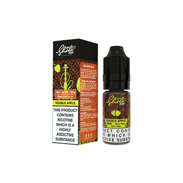 Nasty Shisha Salt 10mg 10ML Flavoured Nic Salt (50VG/50PG)