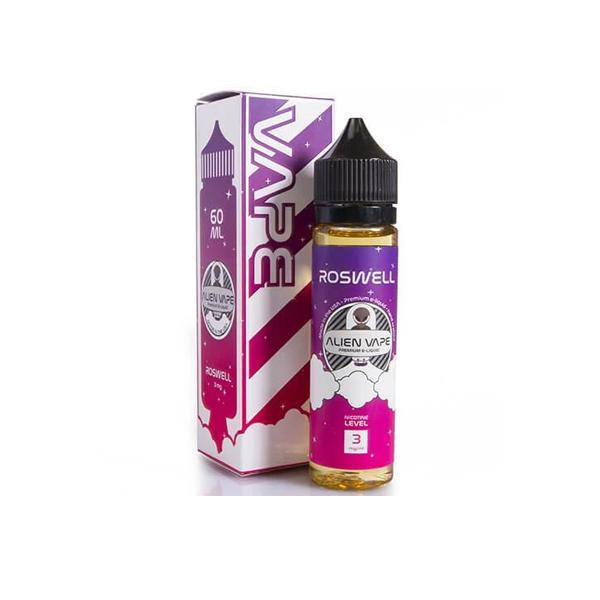 Roswell by Alien Vape 0mg 60ml Shortfill (70VG-30PG)