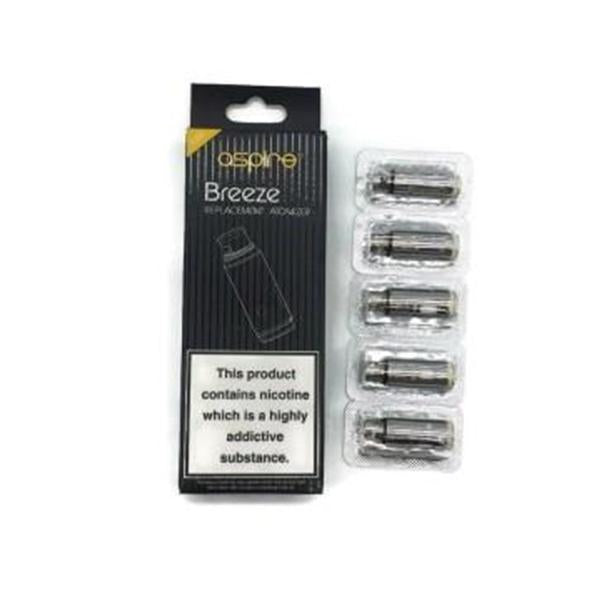 Aspire Breeze 0.6 Ohm/ 1.2 Ohm Coils