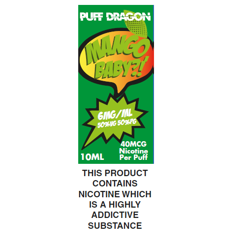 Puff Dragon Mango Baby 10ml