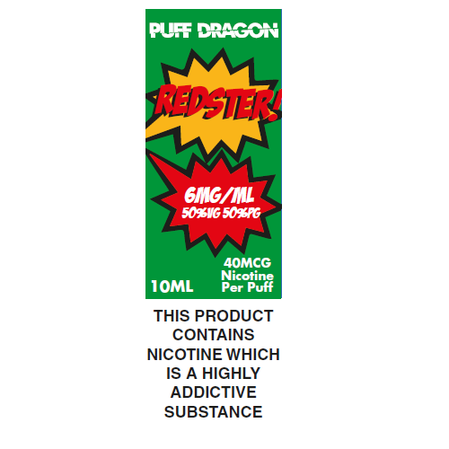 Puff Dragon Redster 10ml