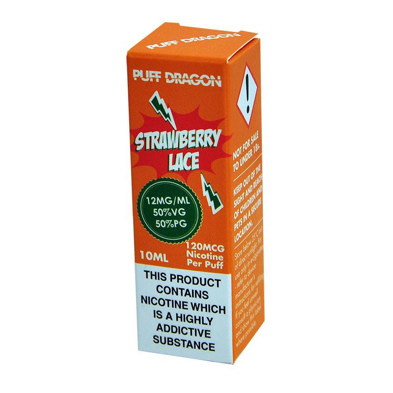 Puff Dragon Strawberry Laces 10ml