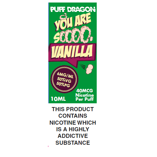 Puff Dragon French Vanilla 10ml