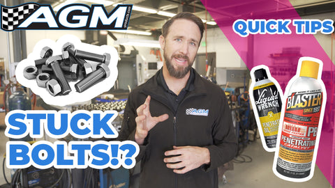 How to Remove a Stuck Bolt | AGM Quick Tips