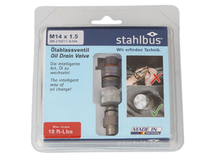 Stahlbus Oil Drain Valve- Steel (Set) | AGM-Products | Work Smart, Play Hard