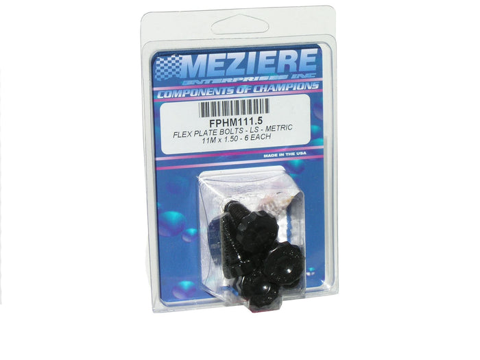 Meziere Flex Plate Bolts - Ls Metric 11mm X 1.5 - 6 Pcs