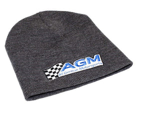 Beanie | Gray | AGM-Products | Work Smart, Play Hard