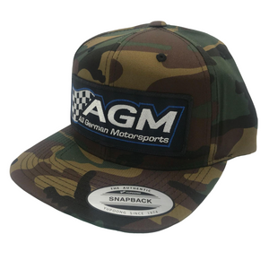 Camo Snap Back Hat