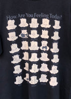 Vintage 90s How are you feeling today? Tee